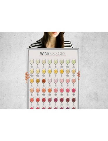 COULEURS DE VIN - Rolled