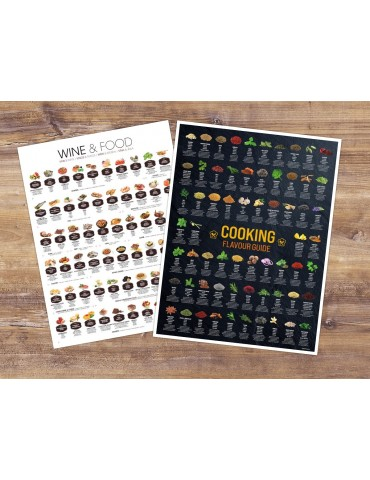 Poster Set 'COOKING' - Rolled