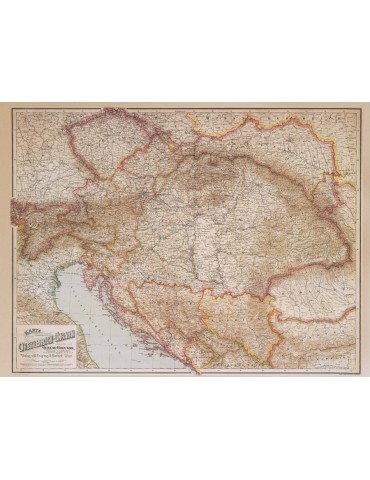 AUSTRIA-HUNGARY 1890 - Folded