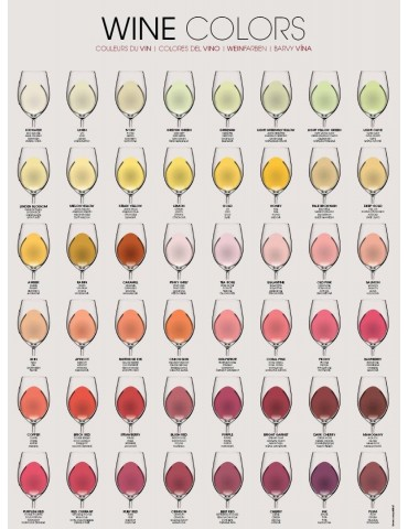 WINE COLORS - Rolled