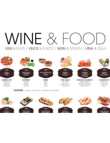 WINE & FOOD - Folded