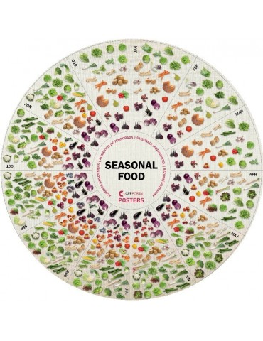 SEASONAL FOOD - Folded