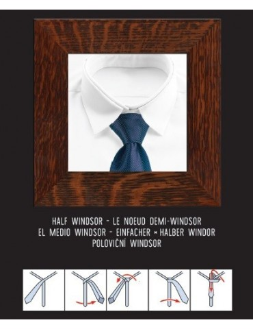 TIE KNOTS - Rolled